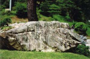 33トン岩©摂理