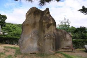 ヒキガエルの岩©摂理